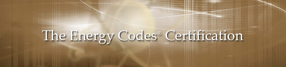 The Energy Codes Certification