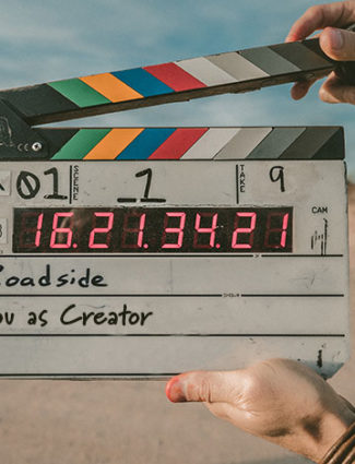 take number? movie clapboard You as Creator